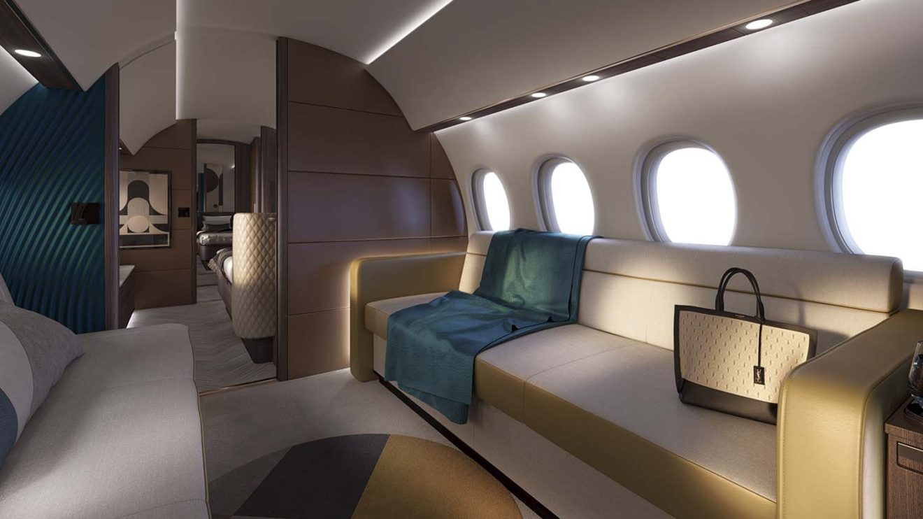 """Dassault ofrecerá una colección de configuraciones """"de serie"""" aunque el cliente podrá optar por otros interiores."""
