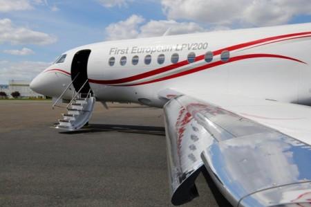 Dassault tiene preparados sus modelos con la aviónica EASy para el uso de las más modernas tecnologías de navegación.