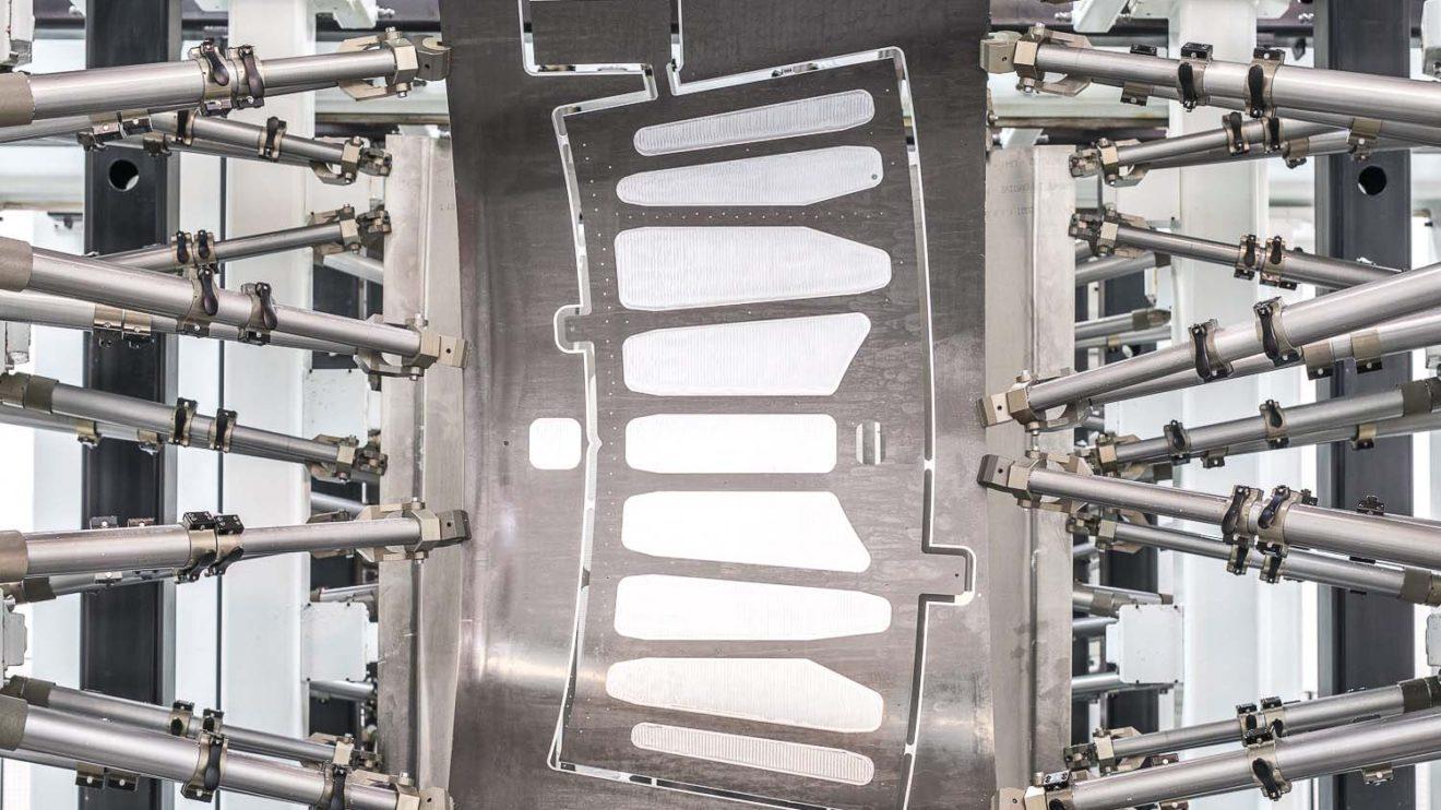 Las primeras piezas producidas para el Dassault Falcon 6X corresponden al fuselaje trasro.