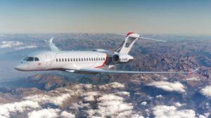 El nuevo Dassault Falcon 10X entrará en servicio a finales de 2025.