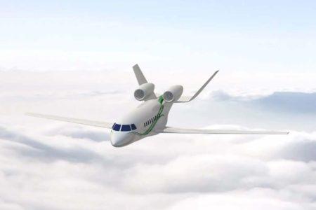 Diseño que Dassault estudia para el Future Falcon.