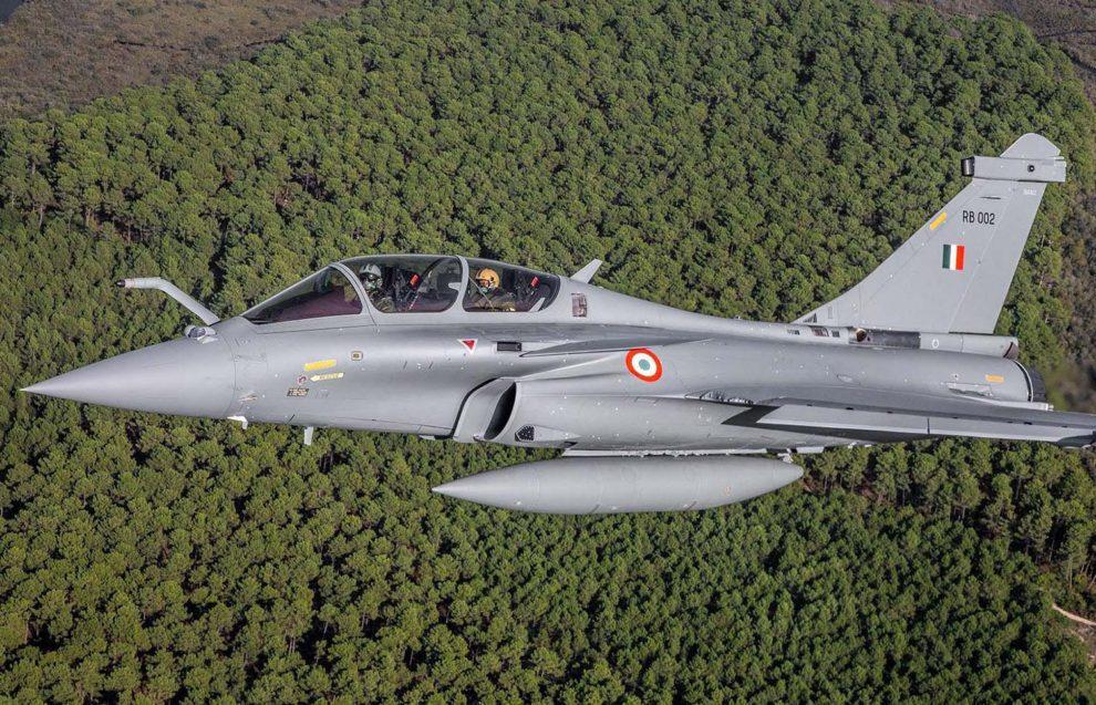 Entre las entregas de 2020 por parte de Dassault estuvieron los primeros Rafale a India.