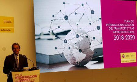 Íñigo de la Serna presenta el plan de Internacionalización del Transporte y las Infraestructuras