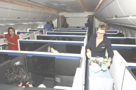 Delta está renovando su servicio a bordo además de introducir nuevos asientos con el Airbus A350.