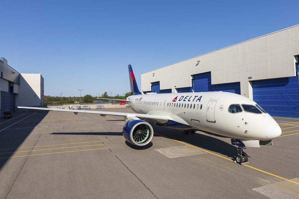 Delta ha recibido cinco nuevos Airbus en enero.