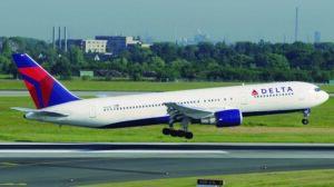 Boeing 767-300 de Delta.