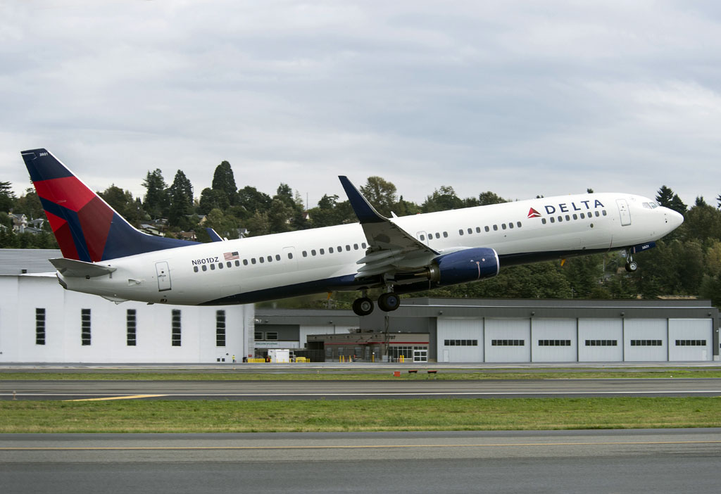 Primer Voeing 737-900ER de Delta Air Lines