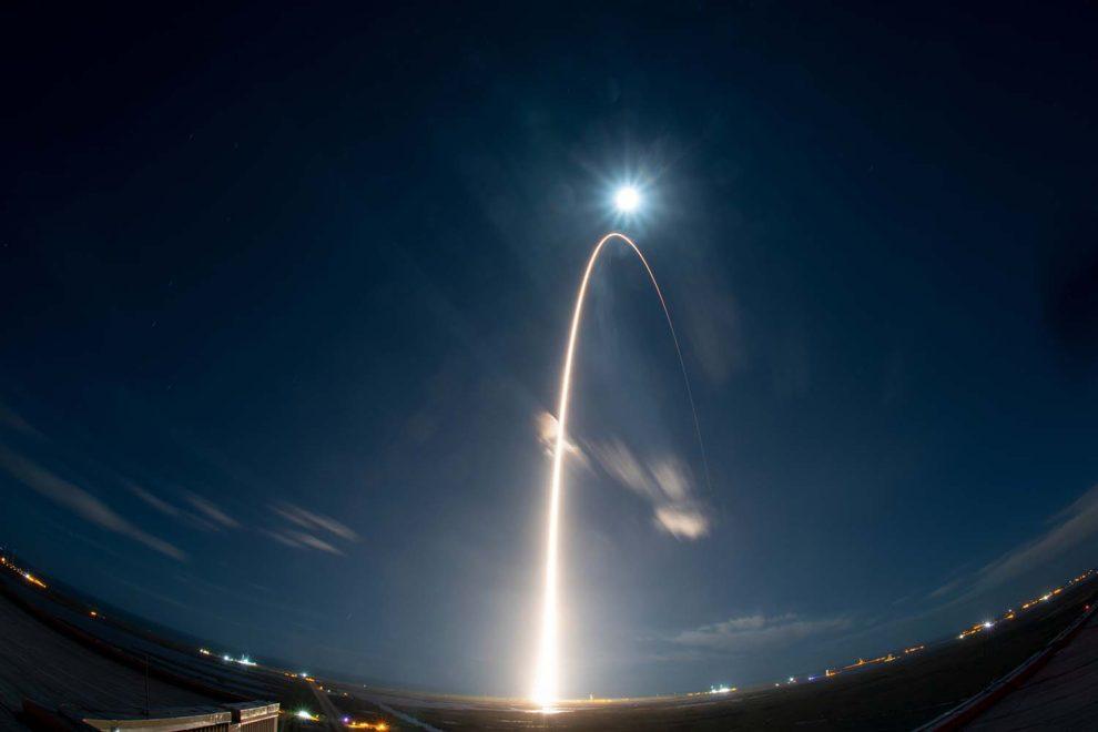 Lanzamiento del Solar Orbiter desde Cabo Cañaveral.