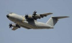 Uno de los debutantes de este año: el Airbus Defence and Space A400M. Por fin.
