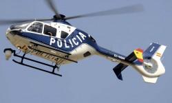 Aunque no formó parte del desfile, no podemos dejar de nombrar al EC135 de la Policía que efectuó labores de vigilancia aérea antes del desfile, haciendo honor a su indicativo radio: Ángel.