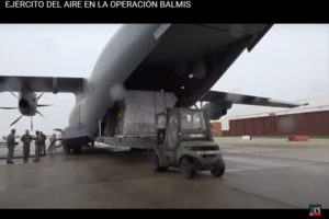 Esta semana reconocemos la labor realizada por los profesionales del Ejército del Aire en la Operación Balmis.
