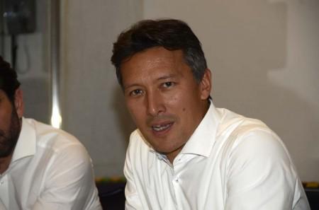 Dirk Hoke durante su reunión con la prensa en Sevilla.