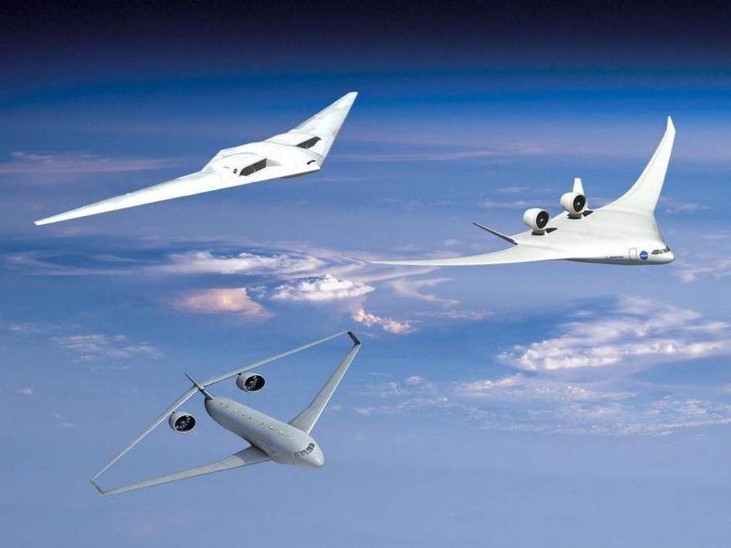 Diseños de aviones verdes en estudio para sustituir a los actuales.