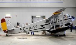 Listo para su entrega en el hangar de Iberia