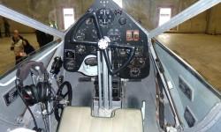 El panel de instrumentos del piloto.