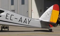 El EC-AAY original se perdió en un accidente en Guinéa en 1946.