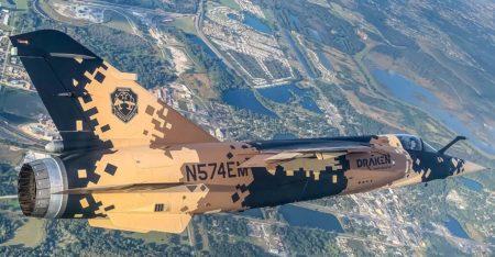 El antiguo C.14-70/14-42 del Ejército del Aire español con su nueva decoración y matrícula civi, operado ya por Draken.