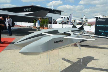 Propuestas de drones de acompañamiento para el FCAS de MBDA y de Airbus.