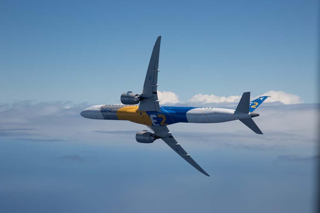 En el primer trimestre de 2017 voló el segundo miembro de la familia Embraer E2, el E195-E2.