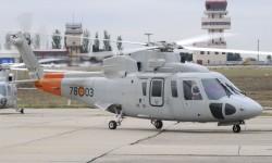 El Ejército del Aire dispone de ocho Sikorsky S-76B más un noveno de segunda mano que se adquirió para repuestos