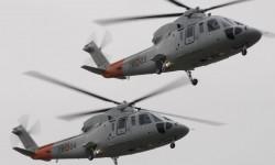 Cuatro Sikorsky S-76B fueron desplazados a Madrid para el desfile