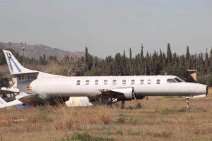 El Metroliner EC-GVE es el mayor de los aviones que Aena subasta en el aeropuerto de Valencia.