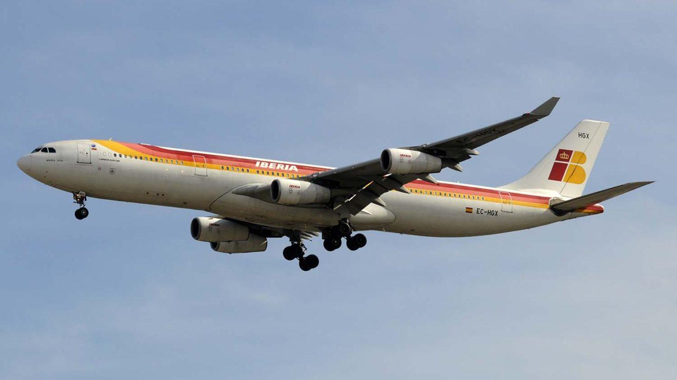 La compra del A340-300 fue una sorpresa en su momento ya que sólo se hablaba en ese momento de comprar A320.