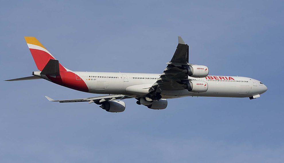 El A340-600 EC-JCY fue entregado a Iberia el 27 de enero de 2005.