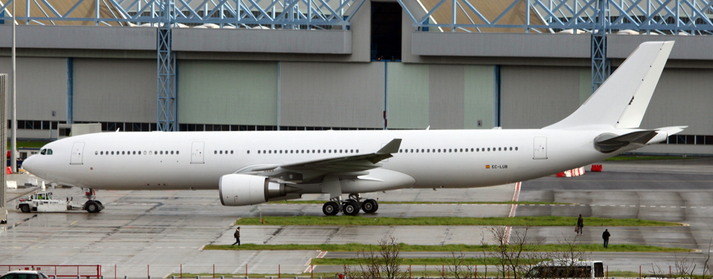 EC-LUB, primer A330 de Iberia