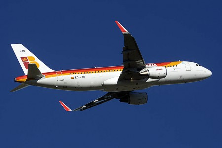 EC-LXQ, A320 de Iberia