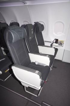 Nuevo asiento de Excellence en los Airbus A320 de Vueling.