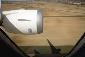 Motor Rolls-Royce Trent 1000 del Boeing 787-8 EC-MIG de Air Europa.