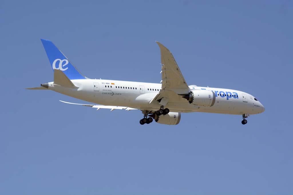 Segundo de los Boeing 787 de Air Europa.