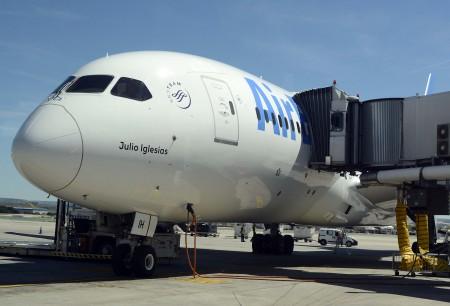 Air Europa está programando sus Boeing 787 ahora también a Tel Aviv para complementar a los vuelos con Boeing 737 y Airbus A330.