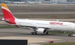 El nuevo A330 de Iberia en Toulouse poco antes de su entrega. (Foto Gorkano FR)