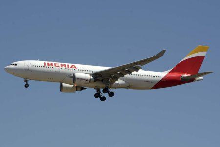 Uno de los once Airbus A330-200 de Iberia de entre los que saldrán los tres A330MRTT del Ejército del Aire.