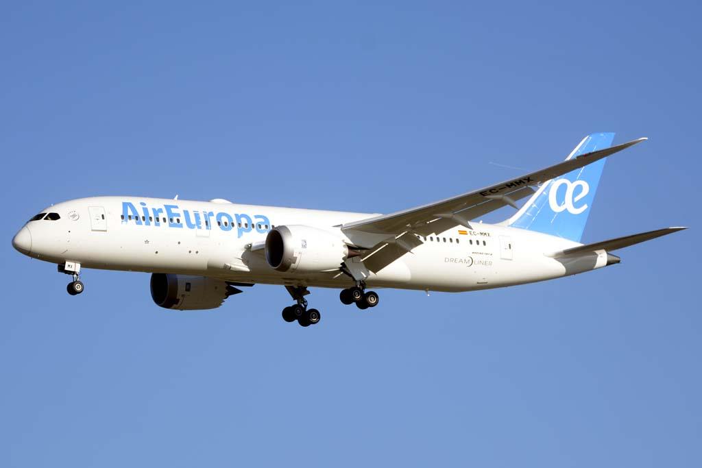 Air Europa ha recibido a lo largo de 2016 cinco Boeing 787, comenzando la renovación de su flota de largo radio.