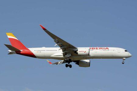 Los A350 de Iberia están permitiendo aumentar las frecuencias de  vuelo hacia América.