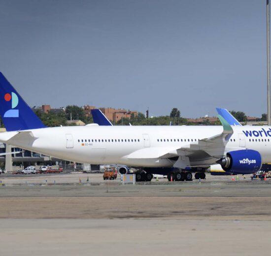 Entre las entregas de Airbus en el primer semestre de 2021 estuvo el primer A350 para World2Fly.