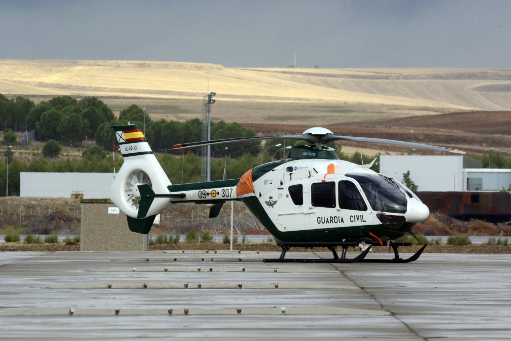 Eurocopter EC135 de la Guardia Civil
