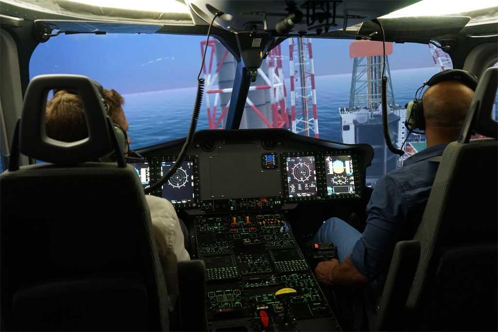 El simulador tipo D del EC-175 ha sido construido por la española Indra
