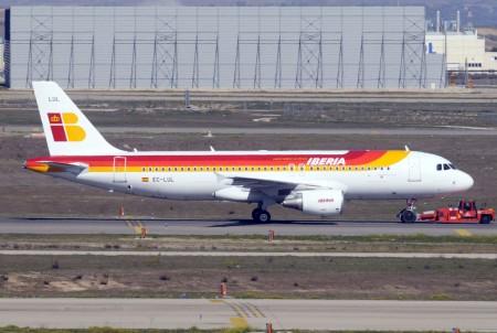 Airbus A320 de Iberia.
