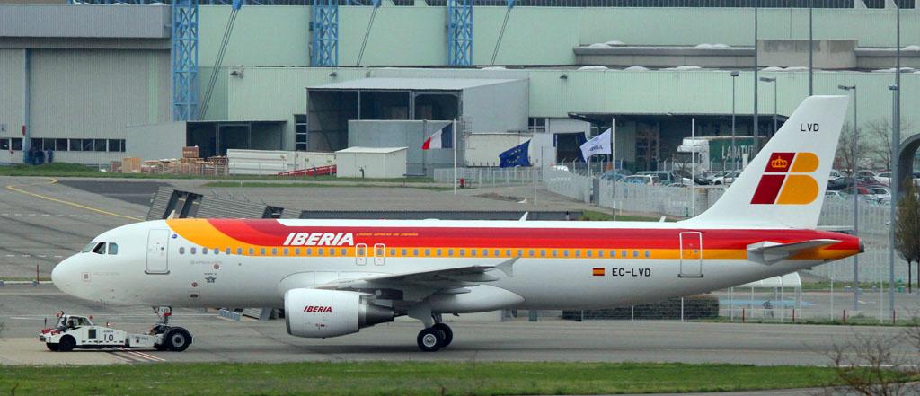 EC-LVD A320 de Iberia