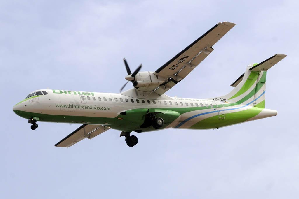 ATR 72 de Binter Canarias