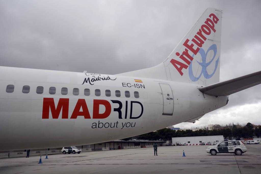 Air Europa también promociona Madrid
