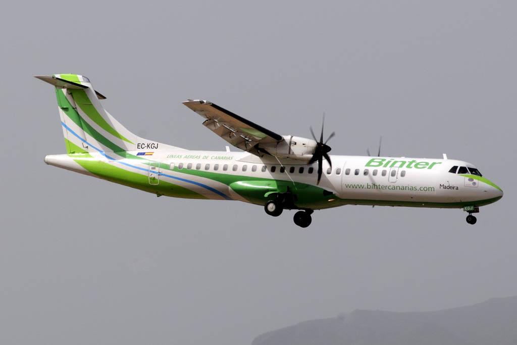 ATR 72-500 de Binter Canarias