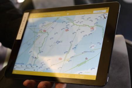 EFB con ejemplo de cartografía selectiva.