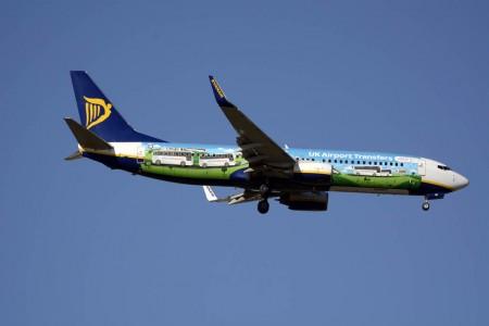 Ryanair transportó 5,8 millones de pasajeros en febrero