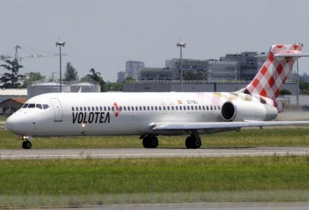 Volotea opera en 243 rutas que conectan 79 ciudades europeas de 16 países con sus Boeing 717 y Airbus A319.