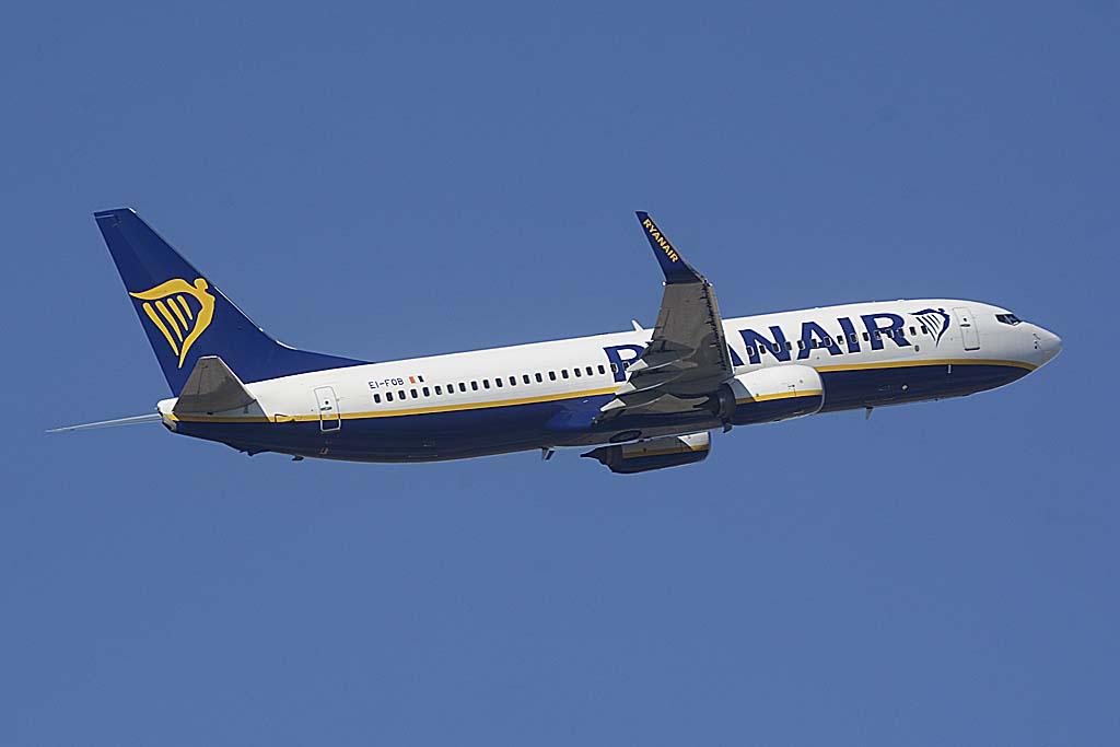 Ryanair estima que en al final de 2016 llegará a los 119 millones de pasajeros transportados en sus más de 1.800 vuelos diarios.